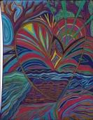 Heart Rays Original Art by Carola Marashi M.A. Intuitive Guide