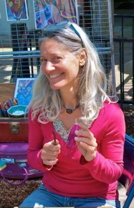 Carola Marashi M.A.  Author, Intuitive Counselor, Artist