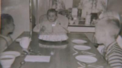 My first birthday! October 5, 1961